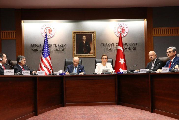 Bakan Pekcan: ABD ile bazı sektörleri öncelikli olarak belirledik
