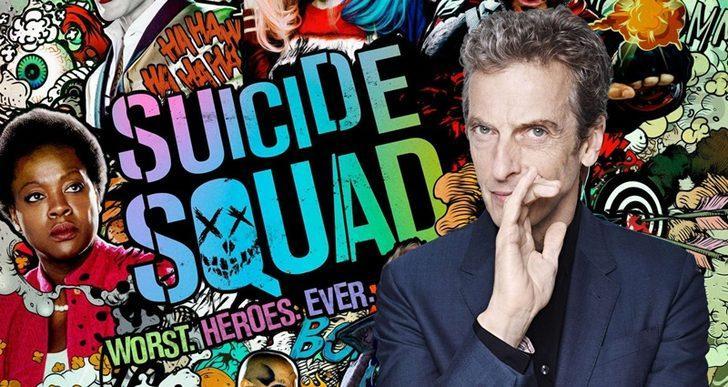 Peter Capaldi, The Suicide Squad kadrosuna katıldı