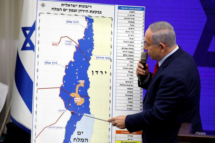 Netanyahu'nun 'ilhak' açıklamasına tepki yağıyor!