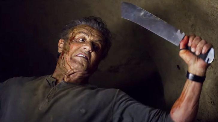 """""""Rambo: Son Kan"""" filminden bir poster daha geldi"""