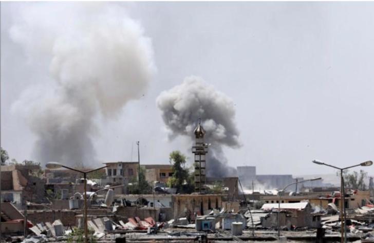 IŞİD hedefleri 36 ton bombayla vuruldu