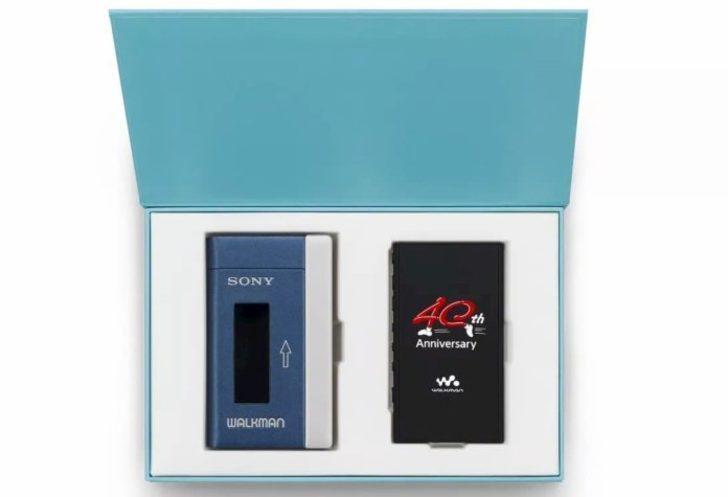 Sony, Walkman efsanesinin 40. yılını Sony NW-A100TPS ile kutluyor