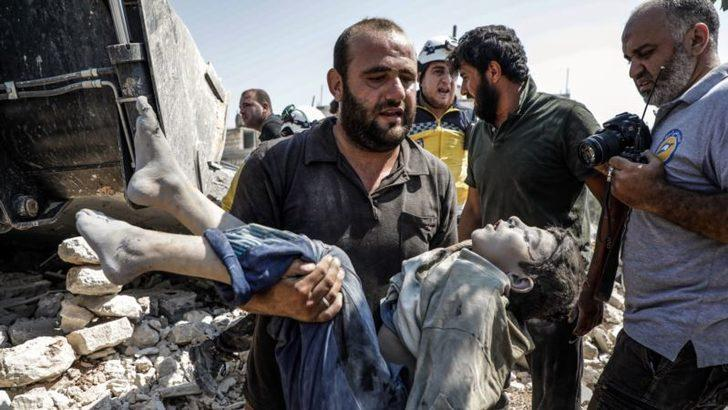 BM: Koalisyon Güçleri, Rusya ve Suriye Savaş Suçu İşlemiş Olabilir