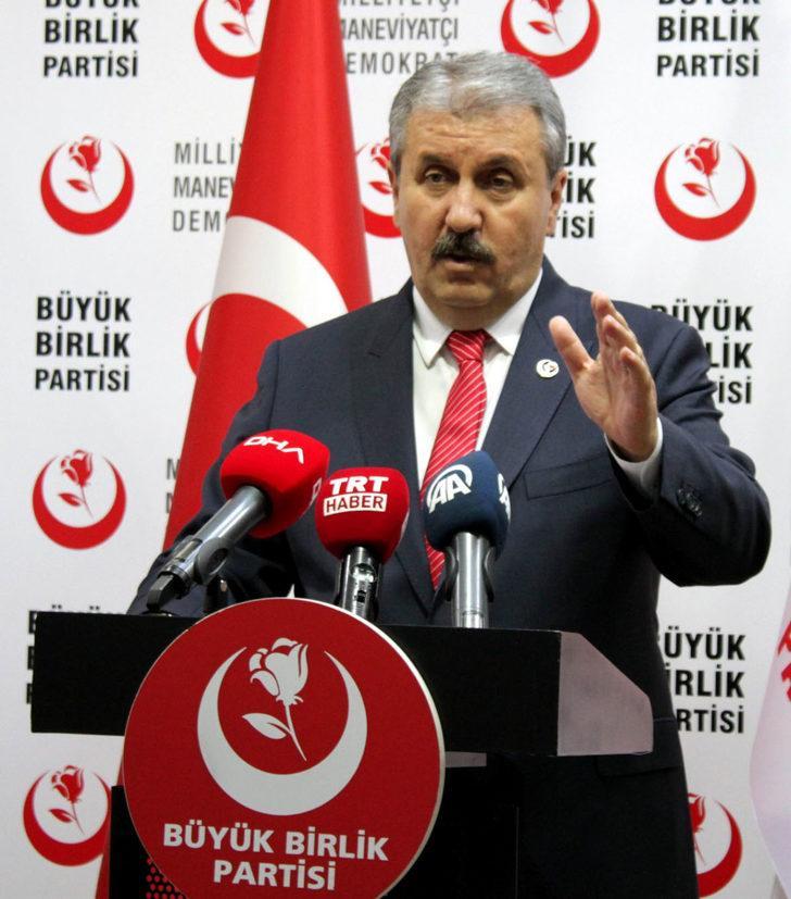 Destici: HDP, PKK'nın siyasi şubesidir, terör yuvasıdır