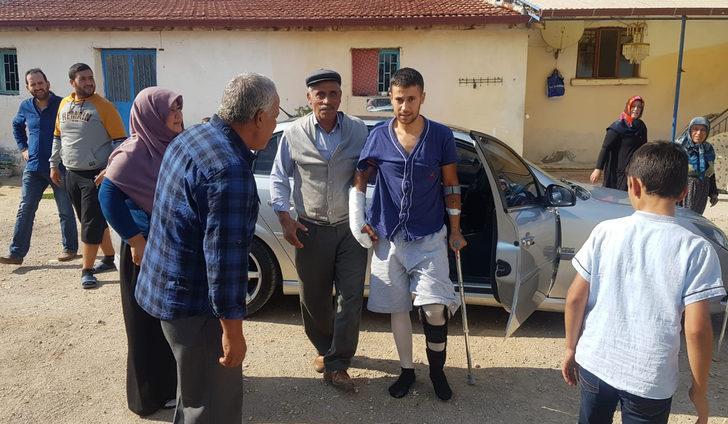 Gazi asker, babaevine getirildi