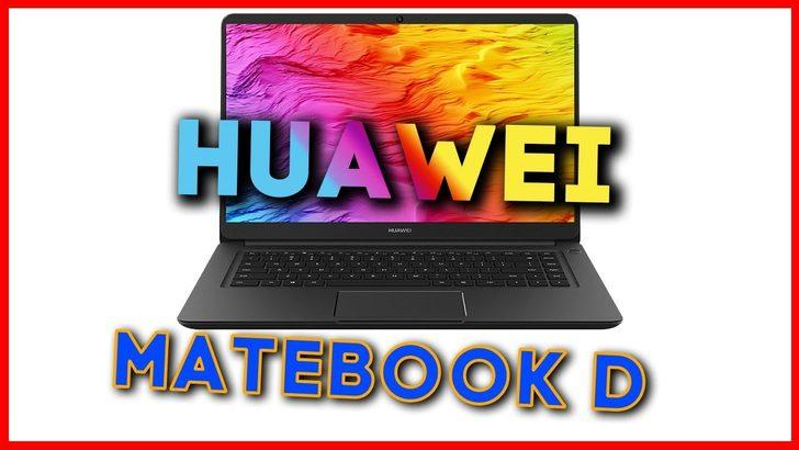 Huawei Matebook D incelemesi