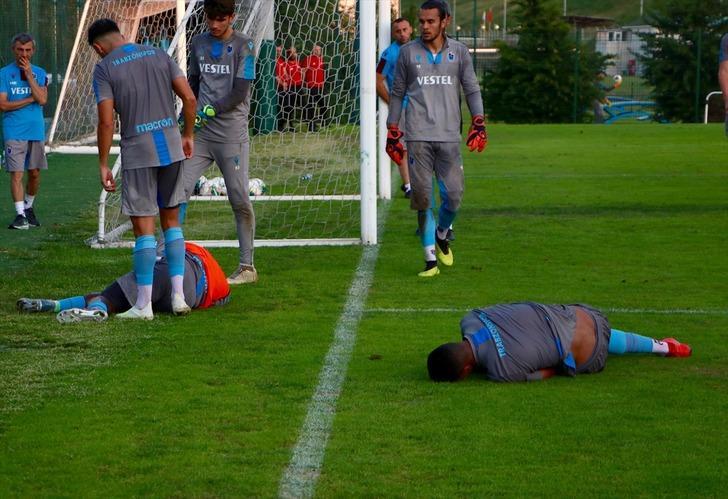Trabzonspor'da Caleb Ekuban'ın sol ayak tarak kemiğinde kırık tespit edildi