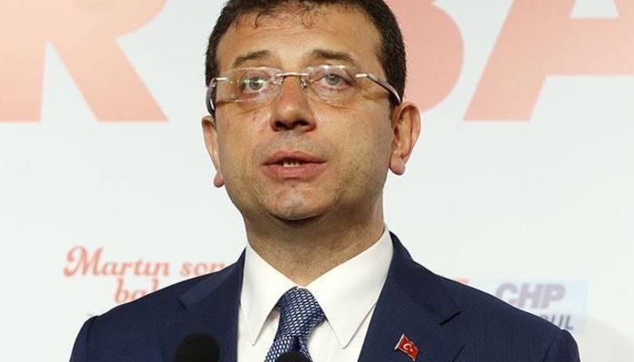 İBB Başkanı Ekrem İmamoğlu'ndan kırık sandalye açıklaması