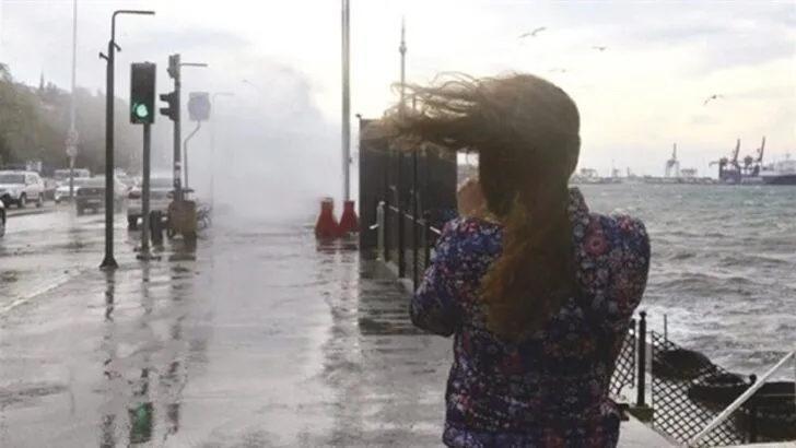 Son dakika! Meteoroloji'den İstanbul için fırtına uyarısı