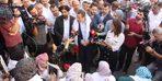 Memur-Sen Genel Başkanı Ali Yalçın'dan, HDP önünde eylem yapan ailelere destek