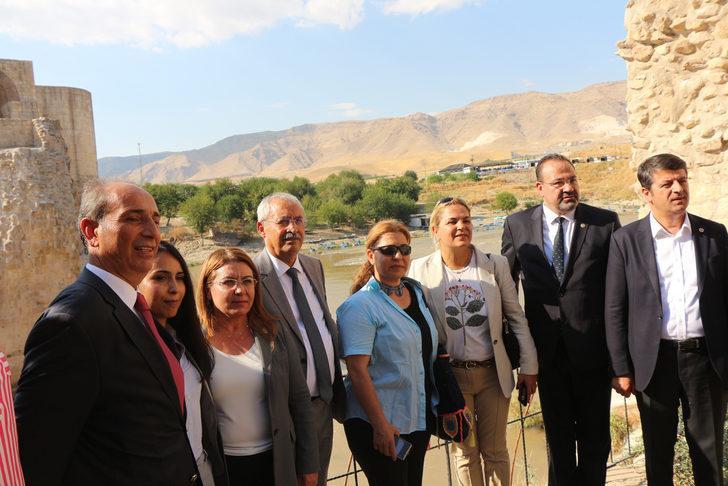 CHP heyetinden Hasankeyf ziyareti