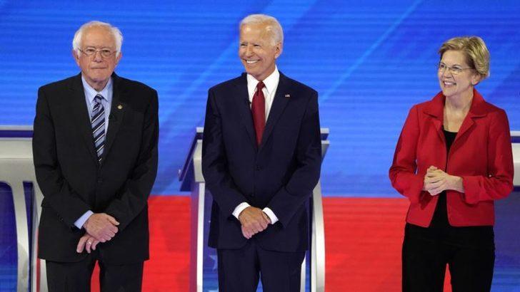 Demokrat Parti'nin Aday Adayları Üçüncü Kez Kozlarını Paylaştı