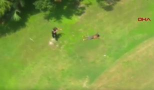Polisten golf aracı ile kaçmaya çalıştı