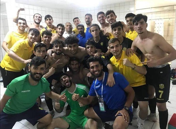 Yeni Malatyaspor U19 takımı Ankara'dan beraberlikle döndü