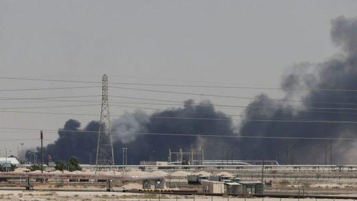 Suudi Arabistan'daki petrol tesislerine saldırı: Petrol fiyatları yüzde 15 arttı