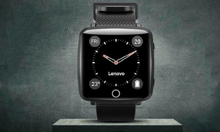 Lenovo'dan uygun fiyatlı akıllı saat
