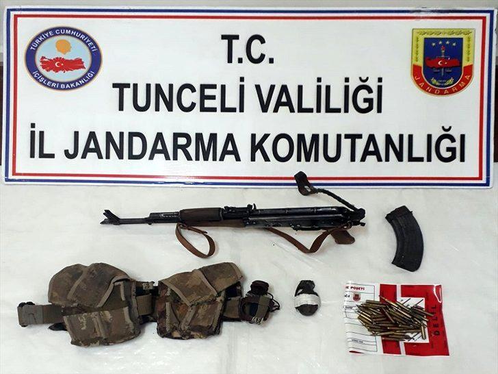 GÜNCELLEME 2 - Tunceli'de bir terörist etkisiz hale getirildi