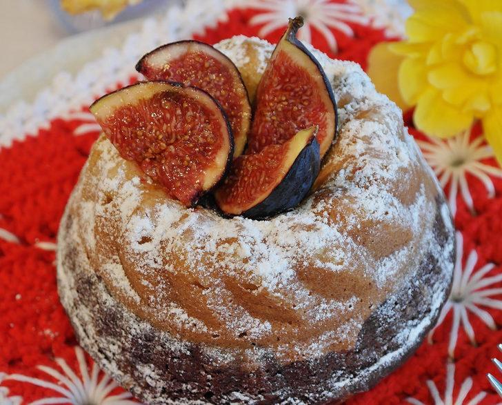 Kuru incirli kek tarifi