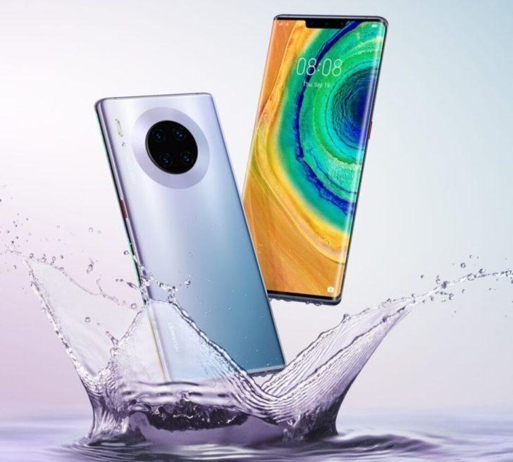 Huawei Mate 30 Pro kamara kurulumu ile dikkat çekiyor