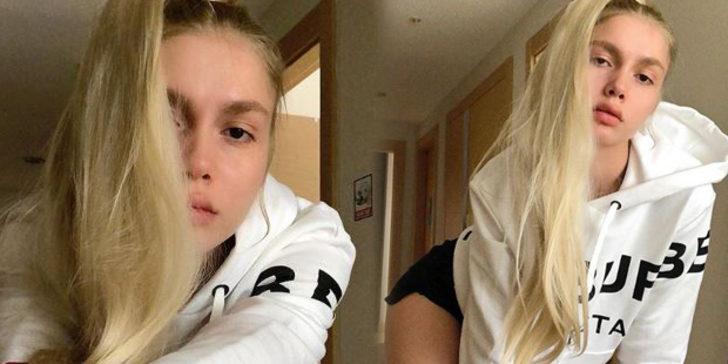 Sefa Doğanay, başörtülü poz veren Aleyna Tilki'yi ti'ye aldı