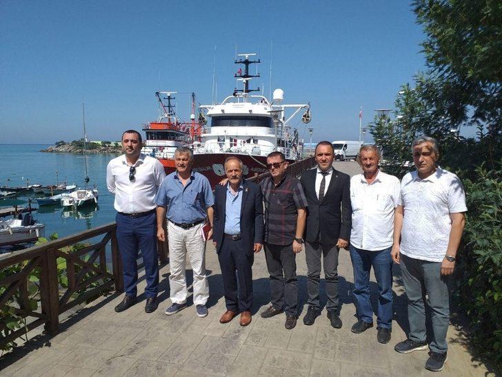Akçakoca'da siyasi parti başkanları bir araya geldi
