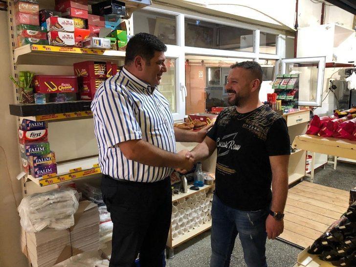 Parlak, esnafların Ahilik Kültürü Haftasını kutladı