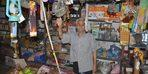 Ramazan dede 60 yıldır köyün bakkalını işletiyor
