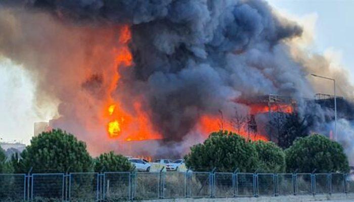 Son dakika: Tuzla'da yangın paniği! Sabiha Gökçen Havalimanı yakınında dumanlar yükseliyor