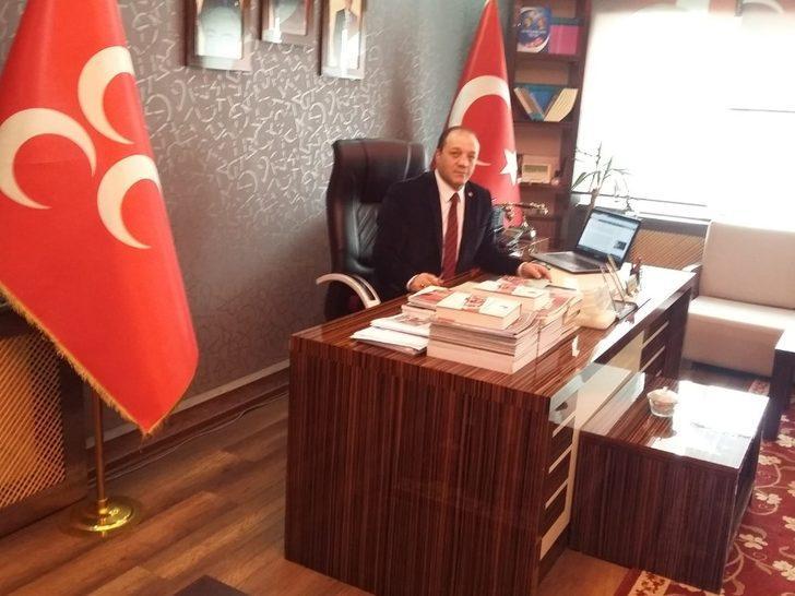 MHP Erzurum İl Başkanı Karataş'tan Gaziler Günü mesajı