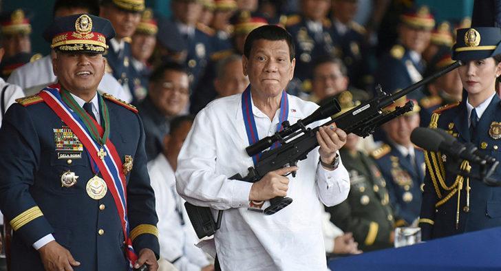 Devlet başkanı Duterte: Ölüleri tercih ederim!