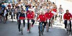 Başkan Büyükkılıç Avrupa Hareketlilik Haftası'nda bisiklete binerek şehir turu attı