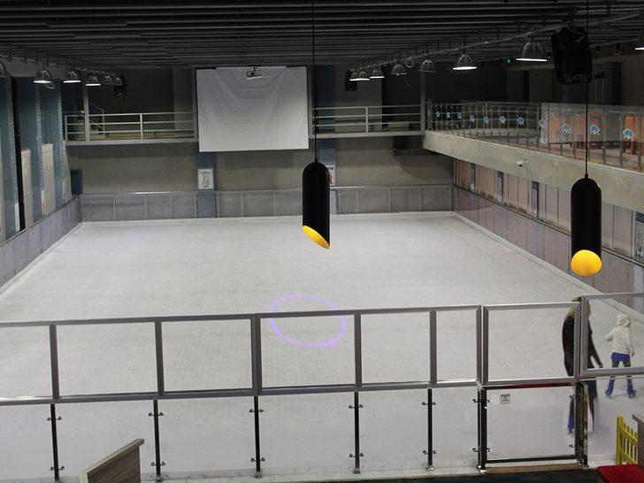 Muratpaşa Belediyesinden buz paten pistine davet