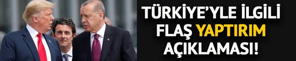 'ABD Türkiye'ye yaptırım uygulamayacak'