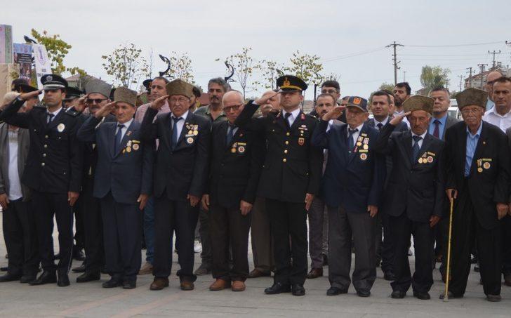 Alaçam'da Gaziler Günü kutlandı