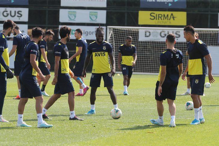 Fenerbahçe'de MKE Ankaragücü maçı hazırlıkları sürüyor