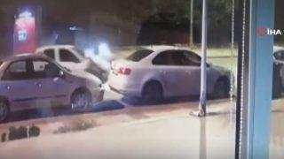 11 aracı böyle biçti! Akılalmaz kaza