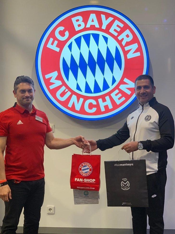 Manisa FK, Bayern Münih'in altyapısını inceliyor