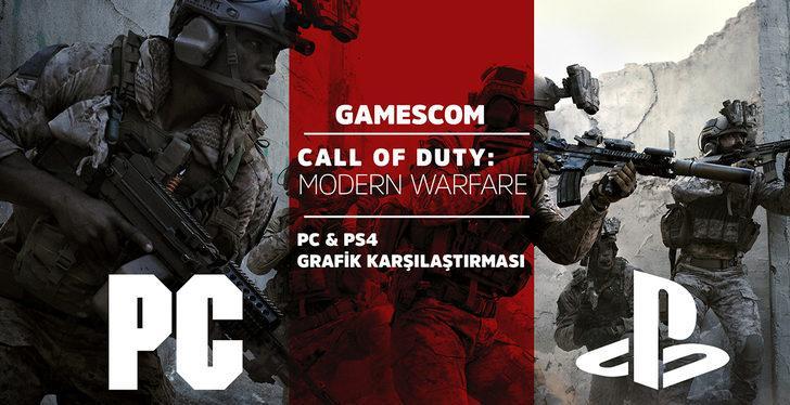 Call of Duty: Modern Warfare – PC ve PS4 Grafik Karşılaştırması