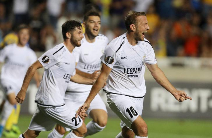 APOEL Nicosia 3 - 4 F91 Dudelange (UEFA Avrupa Ligi)