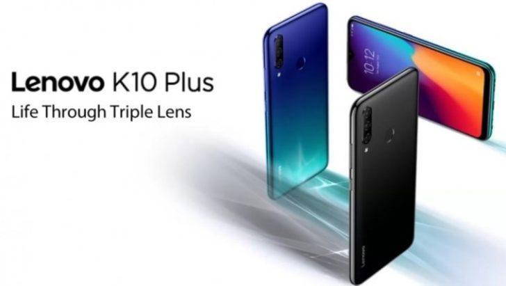 Lenovo, K10 Plus ile teknoloji tutkunlarının karşısına çıkacak