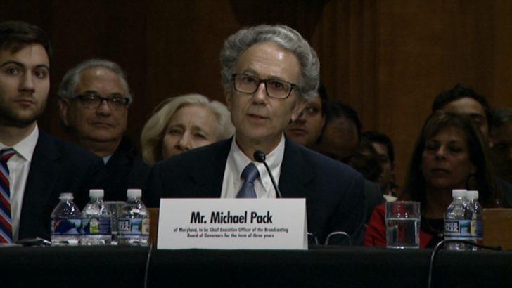 ABD Senatosu Michael Pack'in USAGM Başkanlığını Onayladı