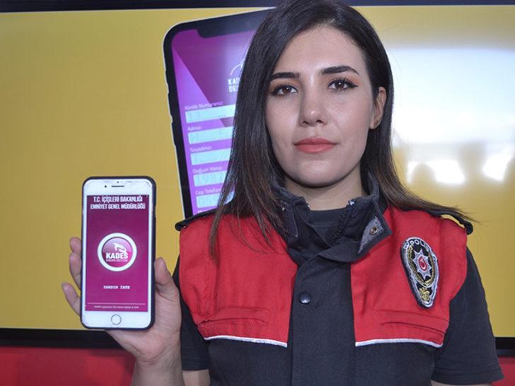 Kadın Acil Destek İhbar Sistemi TEKNOFEST İstanbul'da tanıtıldı