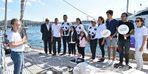 Başkan Akpolat, Blue Panda teknesini ziyaret etti