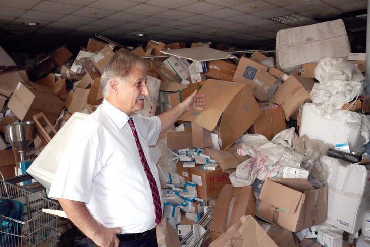 KKTC'de 90 kamyon ilaç depoda unutuldu, zarar 200 milyon TL