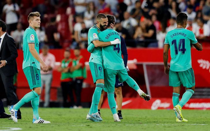Sevilla 0 - 1 Real Madrid