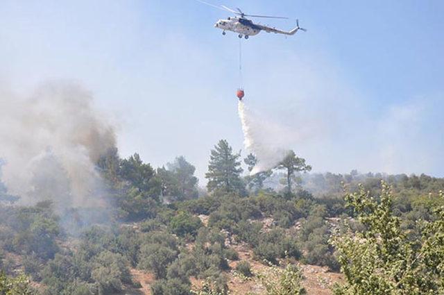 Yangın helikopterinin isimsiz kahramanları