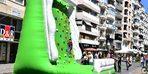 İzmir'de otomobilsiz sokaklar etkinliği
