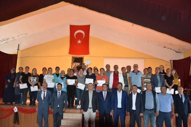 Çanakkale'de ev pansiyonculuğu sertifika töreni