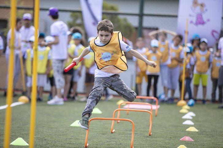 Hareket Şenliği çocukları 'Hareket'e çağırıyor