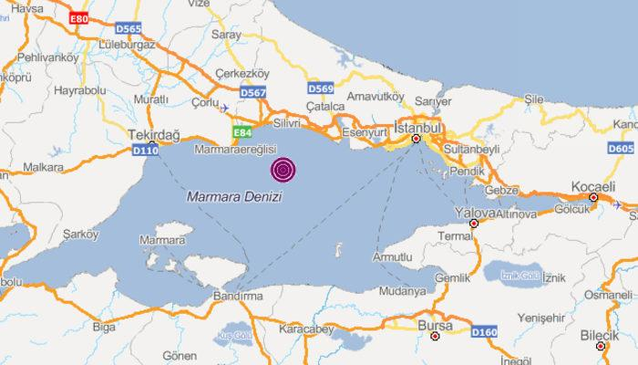 Son dakika! İstanbul'da deprem